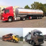 Eixos 3/2 20FT/40FT Cama Plana/esqueleto do contentor/Utility Cargo/Tanque de Combustível/cimento Cisterna/Cama Baixa Carreta com Sinotruk HOWO/Shacman/Beiben Veículo