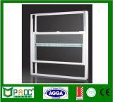 Doppia finestra appesa di alluminio con il disegno Pnoc0005shw della griglia