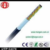 La fibra óptica al aire libre doble envoltura de cable de datos en el Precio más bajo