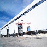 Hangar droit d'acier préfabriqué/jeté
