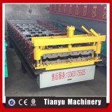 Metal 840 galvanizado cubriendo el rodillo de la hoja que forma la máquina