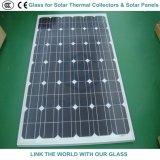 vidrio de flotador del claro de 4m m para los colectores termales solares y los paneles solares