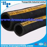 Tubi flessibili di gomma di consegna di aspirazione dell'olio per il tubo flessibile industriale