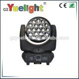 1つのズームレンズの移動ヘッド洗浄LEDライトに付き19PCS 12W RGBW 4つ