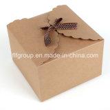 Rectángulo de empaquetado de papel del diseño de lujo