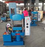 Máquina Vulcanizing de borracha com PLC