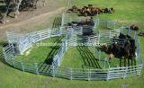 Стальная портативная гальванизированная загородка фермы поголовья