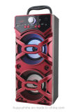 Im Freien hölzerner Lautsprecher zwei 4 Zoll Bluetooth Lautsprecher