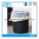 Bolsos de lazo planos de la basura de la vida de HDPE/LDPE/LLDPE