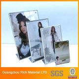 Desktop Acrylic Menu Display Stand / Plastique PMMA Menu Display