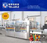 Máquina de rellenar en botella automática de la bebida carbónica