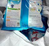 Poudre à laver blanche ou bleue pertinente élevée de savon