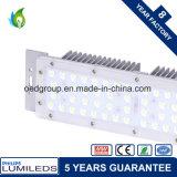 50W Módulo Streetlight LED usado como fonte de luz LED de Rua LED e luz do farol