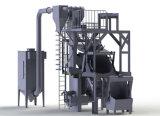 Type de tambour d'inclinaison de nettoyage de moulage grenaillage Nettoyage de la machine