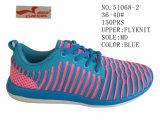 No. 51068 Sports Shoes Flyknit 분홍색과 파란 숙녀