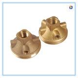 粉のコーティングが付いている青銅色の鋳造のサーモスタット弁