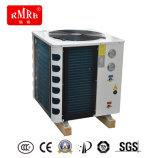 Riscaldatore di acqua della pompa termica connesso al riscaldatore di acqua solare