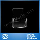 Titulaire de la carte de comptoir pour brochure présentoir acrylique (TY8075)