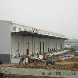 A estrutura de aço do prédio da fábrica de vestuário Concepção e fabrico