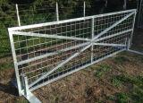 Cancello saldato tubo d'acciaio dell'azienda agricola di Pregalvanized Direectly