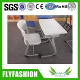 Стол и стул мебели школы пластичные установили (SF-59S)