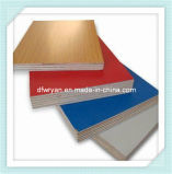 tarjeta de madera del MDF de la melamina del grano de 16m m para los muebles