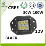 CREE Flood LED Work Light Carré Rinçage