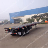 Fabricação Venda Light Dead Weight 20 Feet Container Flat Bed Semi Semi-reboque