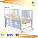 Bâti d'hôpital pédiatrique manuel direct de soin d'enfants d'acier inoxydable de prix bas d'usine
