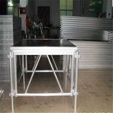 Bildschirmanzeige-hölzerne Modeschau-Aluminiumfurnierholz-Modeschau-bewegliche Brückeen-bewegliches Aluminiumstadium