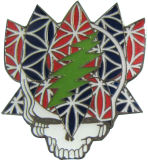 Monograma do pino de metal com o logotipo personalizado (m-B04)