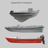 Fiberglaspanga-Bewegungsboot China-Aqualand 19feet 23feet 5.8m 7m/Fischerboot (230)