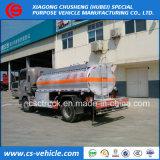 판매를 위한 Sinotruk HOWO 6 바퀴 5cbm 기름 수송 유조 트럭 5000L 연료 탱크 트럭