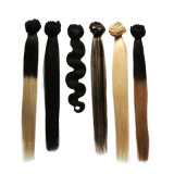 """拡張完全なヘッド7PCS 8CS 10 PCS 100g 80g 70g 18 """" 22 """"のブラジルの人間の毛髪クリップ24の"""" Remyの人間の毛髪の拡張のクリップ"""