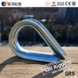 Электрические гальванизированные европейские кольца веревочки провода