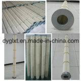 Cartucho de filtro de pliegues a alta temperatura
