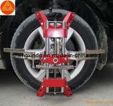 Car Auto de cuatro puntos de alineación de ruedas de la rueda adaptador adaptador Alineador Clip Lock Clamp (JT003R)