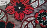 Bon tissu de sofa de jacquard de Chenille de capitonnage (fth31890)