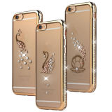 iPhone 6s Plus를 위한 다이아몬드 Electroplating TPU Case