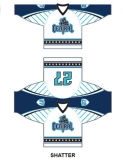 Factory Outdoor Sportwear Dri Fit Sublimation Impressão Rugby Ice Hockey Jersey Clothes