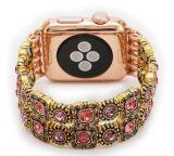 Fascia del braccialetto di stirata dell'agata delle donne per la vigilanza del Apple