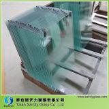 Feuille de verre tempérée bon marché de 3,2 mm pour la construction