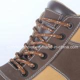 Zapatos de la seguridad en el trabajo con Nubuck Snn409 de cuero