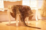 Form-Känguru-Haut-Wolldecke-hängender Teppich mit Leopard-Druck