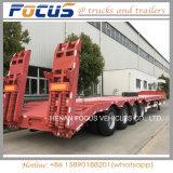 40t 60t 80t spezieller Fahrzeug Lowbed LKW-halb Schlussteil