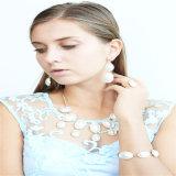 Neue Feld-eindeutige Raupe-Glas-Stein-acrylsauerschmucksache-gesetzte Ohrring-Armband-Halsketten-Form-Schmucksachen
