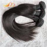 Weave malaio não processado do cabelo reto de cabelo humano do Virgin 8A