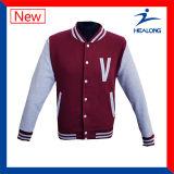 Rivestimento di baseball di marchio di Healong dei vestiti degli uomini su ordinazione del Windbreak