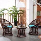 1+2 de tables et de tabourets de bar en rotin de loisirs l'Osier tableau Ensembles de meubles de jardin Z308