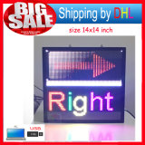 LED Display Billboard USB Editable Support Text Logo Imagem Full Color LED Scroll Sign Display